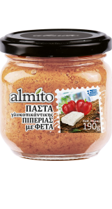 HIGH  Almito-spread-GR-200ml-SweetPepper
